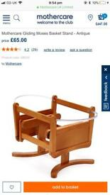 Mothercare gliding Moses basket stand can deliver