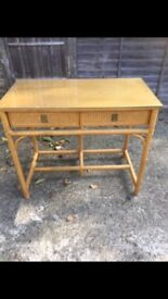Handmade Bamboo Console table