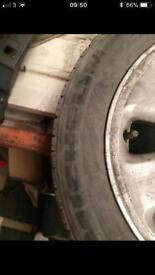 Honda spare wheel