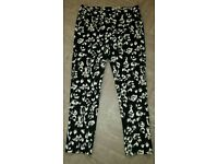 Size 14 floral trousers