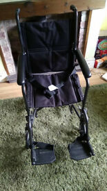 Drive transport wheelchair (like new)