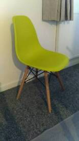 Chair mid century Green