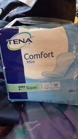 Tena Comfort Mini Super Pads