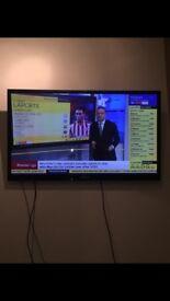 "SAMSUNG 52"" TV GOOD CONDITION - no remote £50 ono CALL 07732828387"