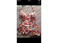 Swim suit size 16