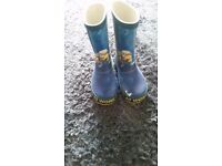 Minions welly boots boys