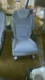 Citroen c8 rear seats