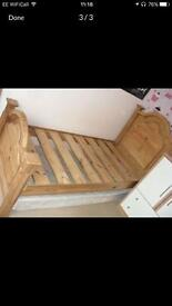 Solid Pine Mexican Pine Bed