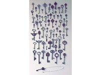 Decorative Key Necklaces (Womens)