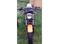 125cc hyosung good feild bike