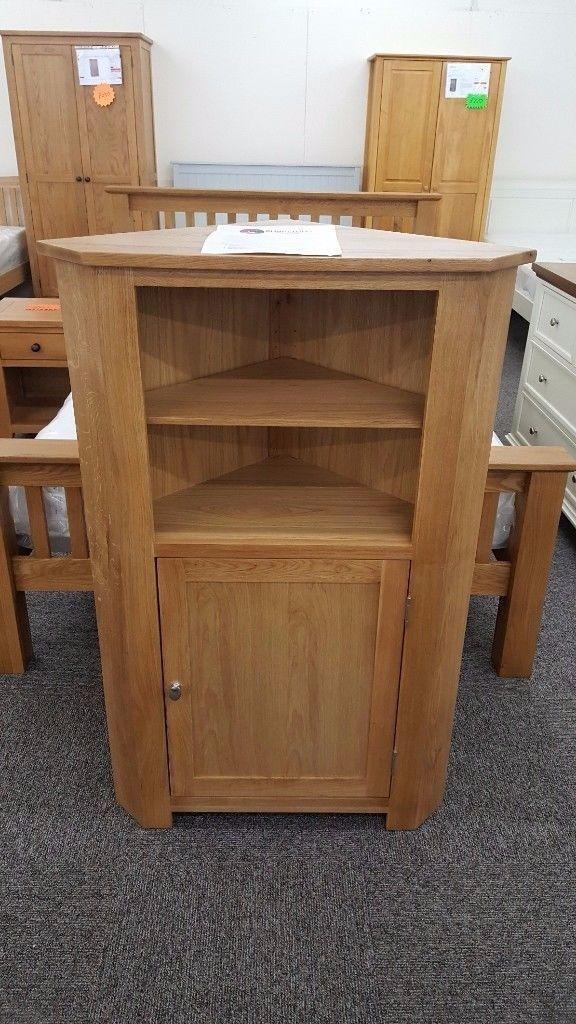 Charlton's Furniture Bretagne Solid Oak Corner Unit **CAN DELIVER**