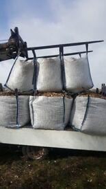 Empty vented sacks
