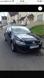 VW Golf 1.6 Mk7 Black