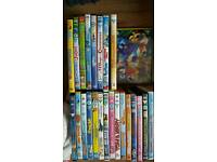 Large kids dvd bundle inc disney