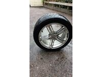 1 rim and tyre for volkswagen caddy