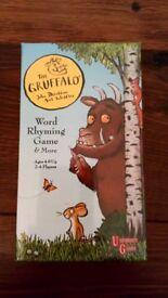 Gruffalo word rhyming game unopened