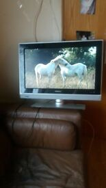 "Philips 26"" tv with built in freeview"