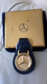 Mercedes key fob and compact