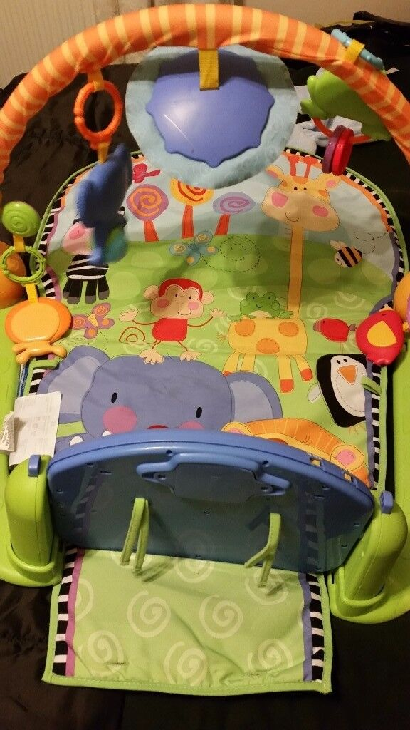 Fisher price musical play gym