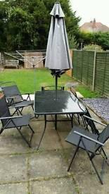 6 seater patio dining set
