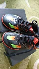 Boys size 12 Messi football boots still boxed