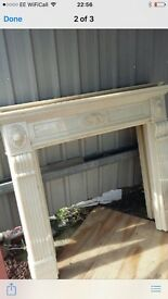 Beautiful resin fire surround -£70 each