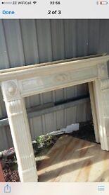 Beautiful resin fire surround -£80 each