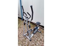Pro Fitness Cross Trainer and Exercise Bike