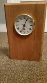 New solid oak clock
