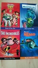 Disney Pixar books - box set of 4