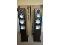 MONITOR AUDIO SILVER 8 IN AS NEW CONDITION