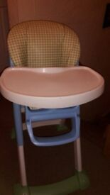 Baby High Chair. and Booster seat