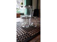 New Straight Sided Preserve Jars + Silver Lids - 498 x 228ml + 40 x 375ml