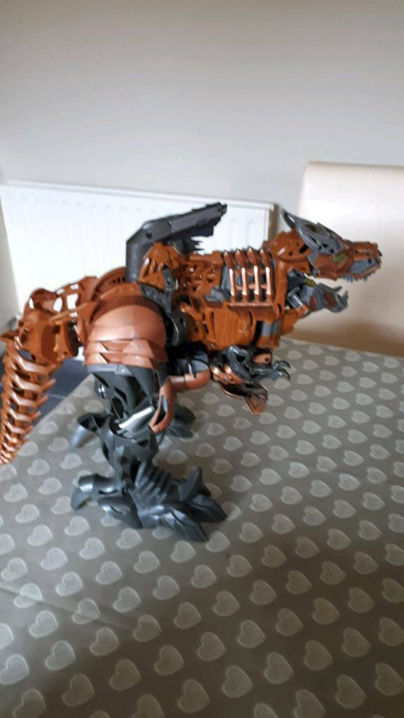 Transformers grimlock age of extinction stomp and chomp