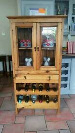 Stunning Heavy Mexican Pine Cabinet