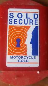 Security Bolt-In Motorcycle Ground Anchor Sold Secure Approved