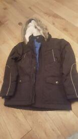 M & S 7 8 Years boy 3 in 1 coat