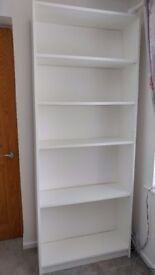 White Bookcase / Shelf unit