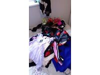 Big ladies bundle of clothes/shoes mostly new with tags
