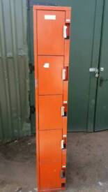 Two Metal Lockers