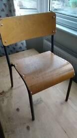 Vintage nursery school chair