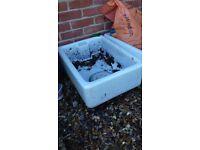 Belfast/ Butlers sink for garden use