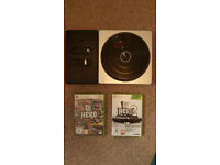 DJ Hero 1 and 2 + Decks for Xbox 360