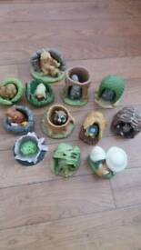 Collection of Animal Figurines