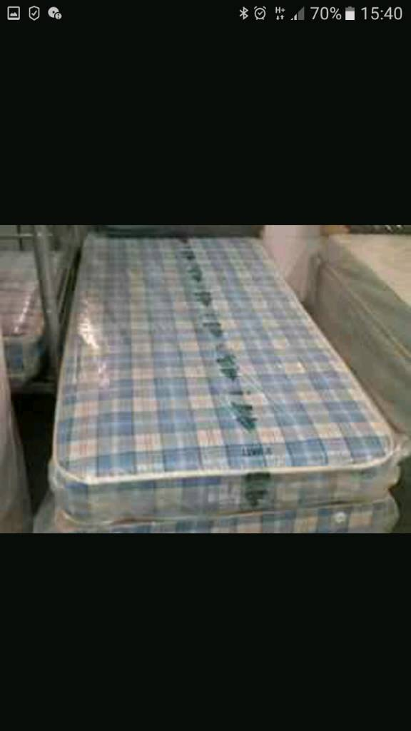 Single Budget Mattress Ideal For Kids Beds Or Bunk Beds Never Used