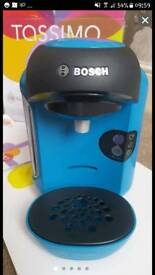 Tassimo coffee machine blue