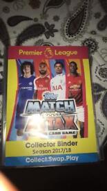 Match Attax Cards- 17/18