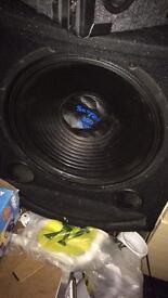 """15"""" bass box 300w"""