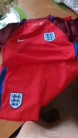 Boys football kit