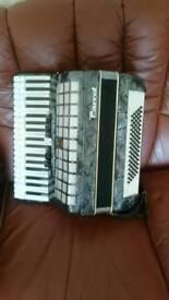 Parrot accordion swap